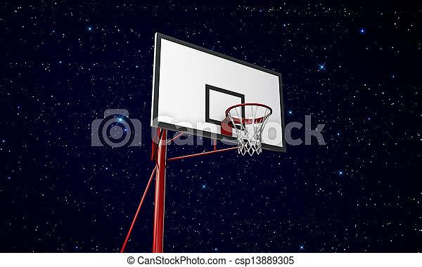 basketball hoop - csp13889305
