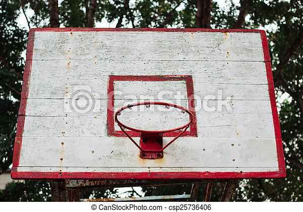 basketball hoop - csp25736406