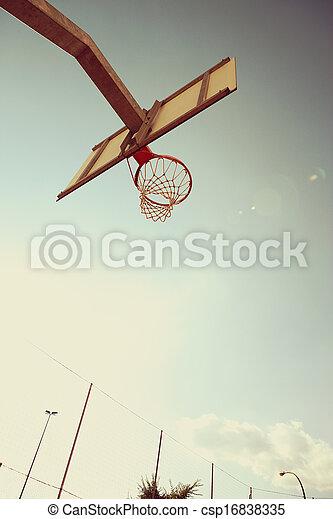 Basketball hoop - csp16838335