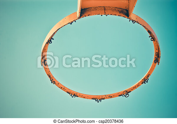 basketball hoop - csp20378436