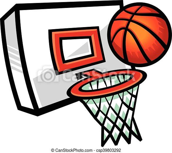 basketball hoop vector icon illustration eps vectors search clip rh canstockphoto com basketball hoop and net clipart basketball hoop and net clipart