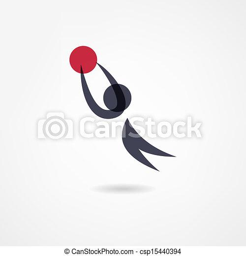 basketball icon - csp15440394