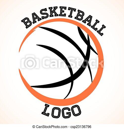basketball logo vector basketball team logo on white background