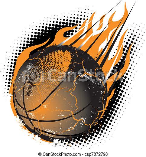 Basketball Meteor - csp7872798