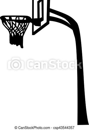 Basketball Net with Backboard - csp43544357