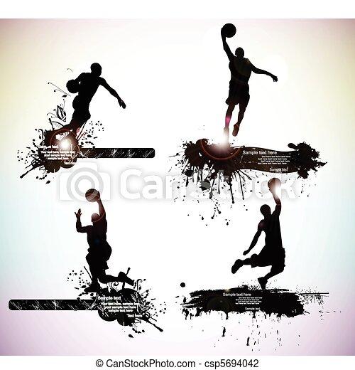 basketball player - csp5694042