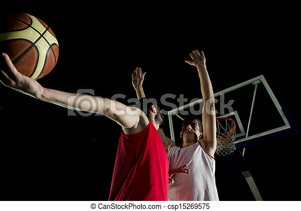 basketball player in action - csp15269575