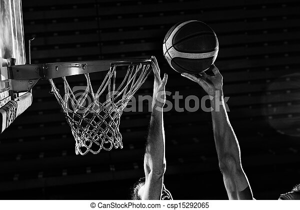 basketball player in action - csp15292065