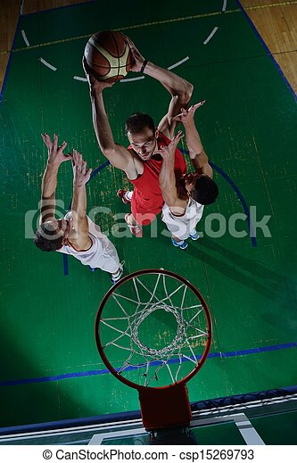basketball player in action - csp15269793