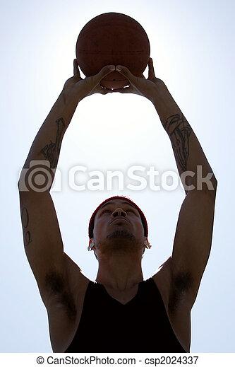 Basketball Player - csp2024337