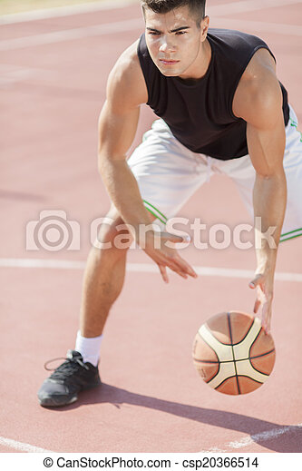 Basketball player - csp20366514