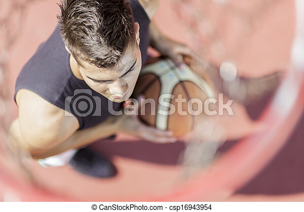 Basketball player - csp16943954