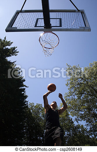 Basketball Player - csp2608149