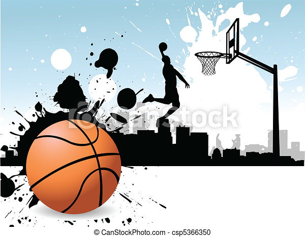 Basketball player - csp5366350
