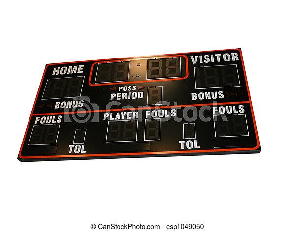 Basketball Score Board-Is - csp1049050
