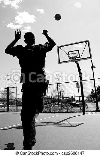 Basketball Shot - csp2608147
