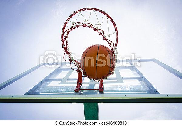 basketball shot - csp46403810