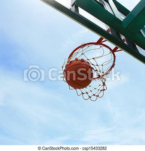 basketball shot - csp15433282