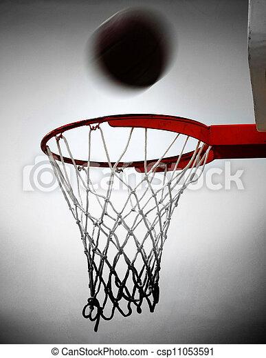 Basketball Shot - csp11053591