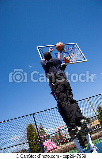 Basketball Shot - csp2947959