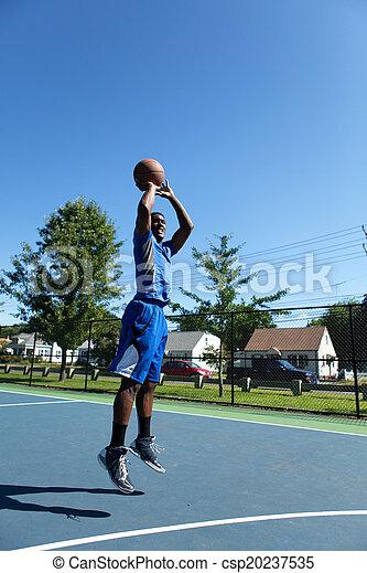 Basketball Shot - csp20237535