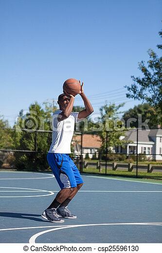 Basketball Shot - csp25596130