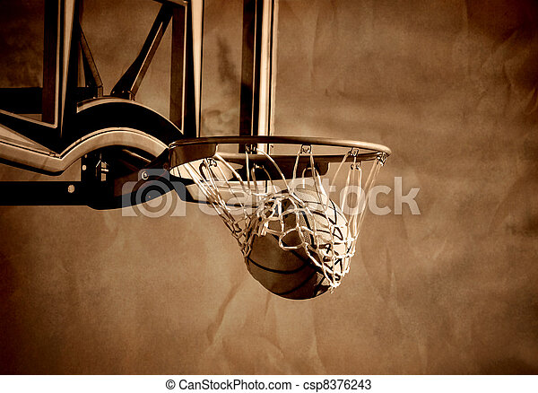 Basketball Shot - csp8376243