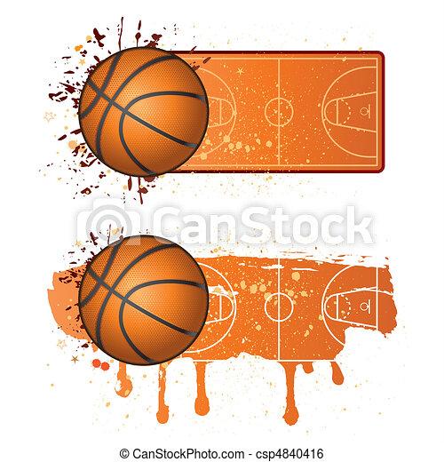 basketball sport - csp4840416