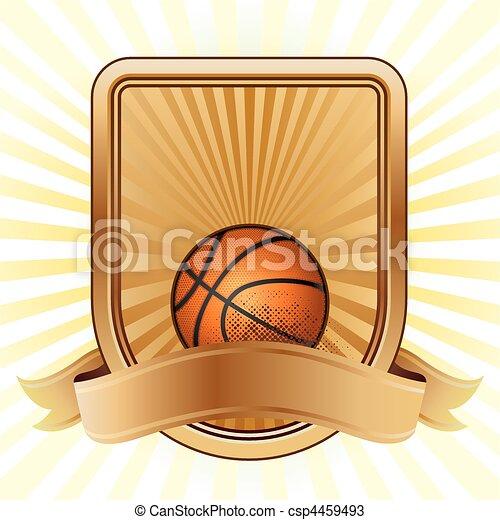 basketball sport design element - csp4459493