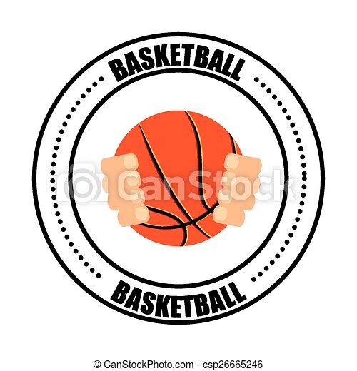 basketball sport - csp26665246