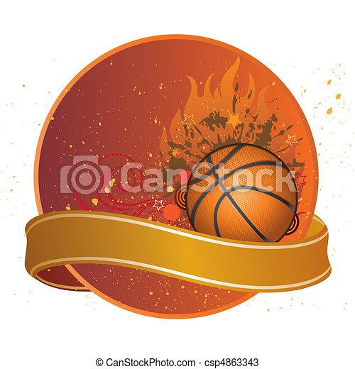 basketball sport - csp4863343