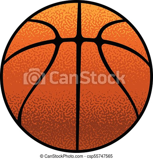 Basketball Textured - csp55747565
