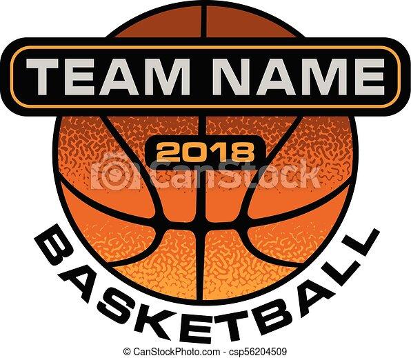 Basketball Textured Design - csp56204509