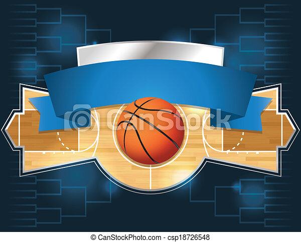Basketball Tournament - csp18726548