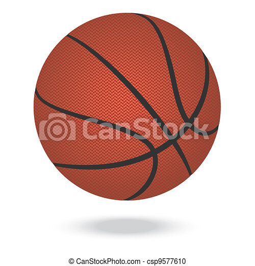 Basketball Ball In Fire Clip Art - Royalty Free - GoGraph