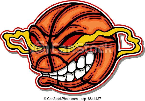 basketball with mean cartoon face and big teeth vectors baseball ball clip art jpeg baseball ball clipart png