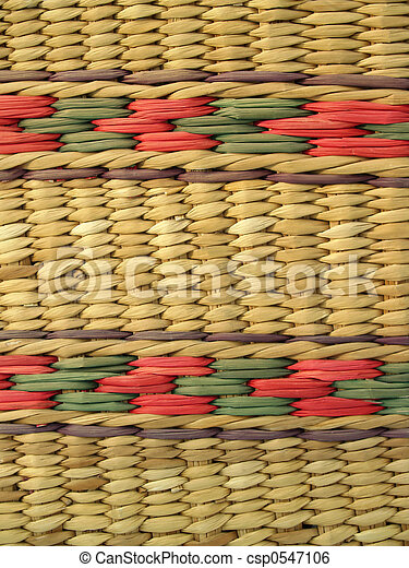 Basketry Background  - csp0547106