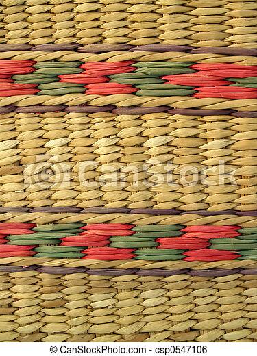 Basketry Background  - csp0547106