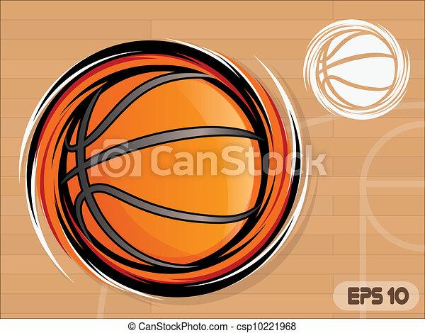 basquetebol, ícone - csp10221968