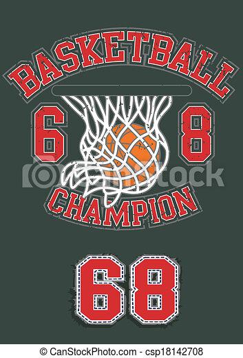 basquetebol, campeão - csp18142708