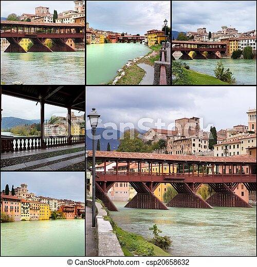 Bassanno del Grappa, Veneto, Italy - csp20658632