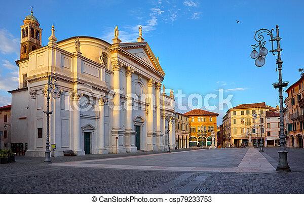 Bassano del grappa Italy, church saint John - csp79233753