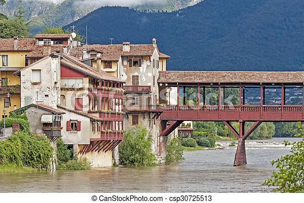 Bassano del Grappa, Italy - csp30725513
