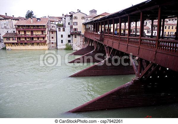 Bassano del Grappa town - csp7942261