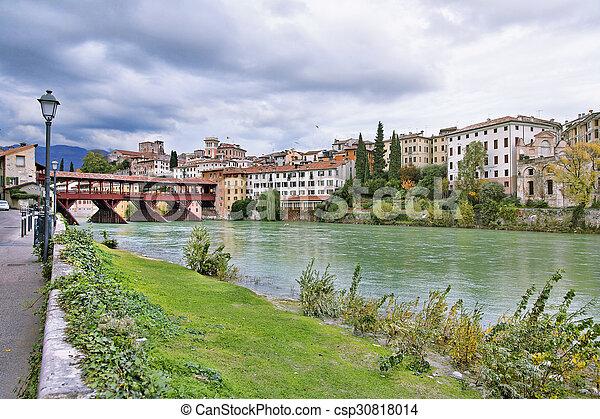 Bassano del Grappa, Veneto, Italy - csp30818014