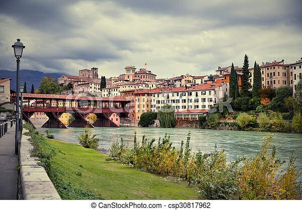 Bassano del Grappa, Veneto, Italy - csp30817962