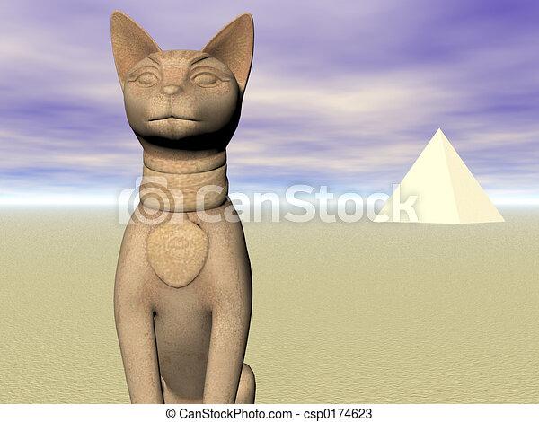 Bast of the Pyramids - csp0174623