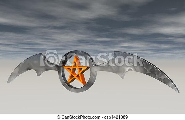 bat wings - csp1421089