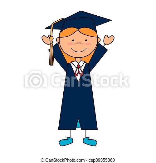 Escuela De Chicas Graduadas Sombrero De Mujer Graduada De