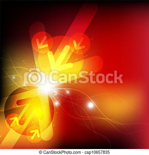 Batalla de choque de flechas - csp10657835